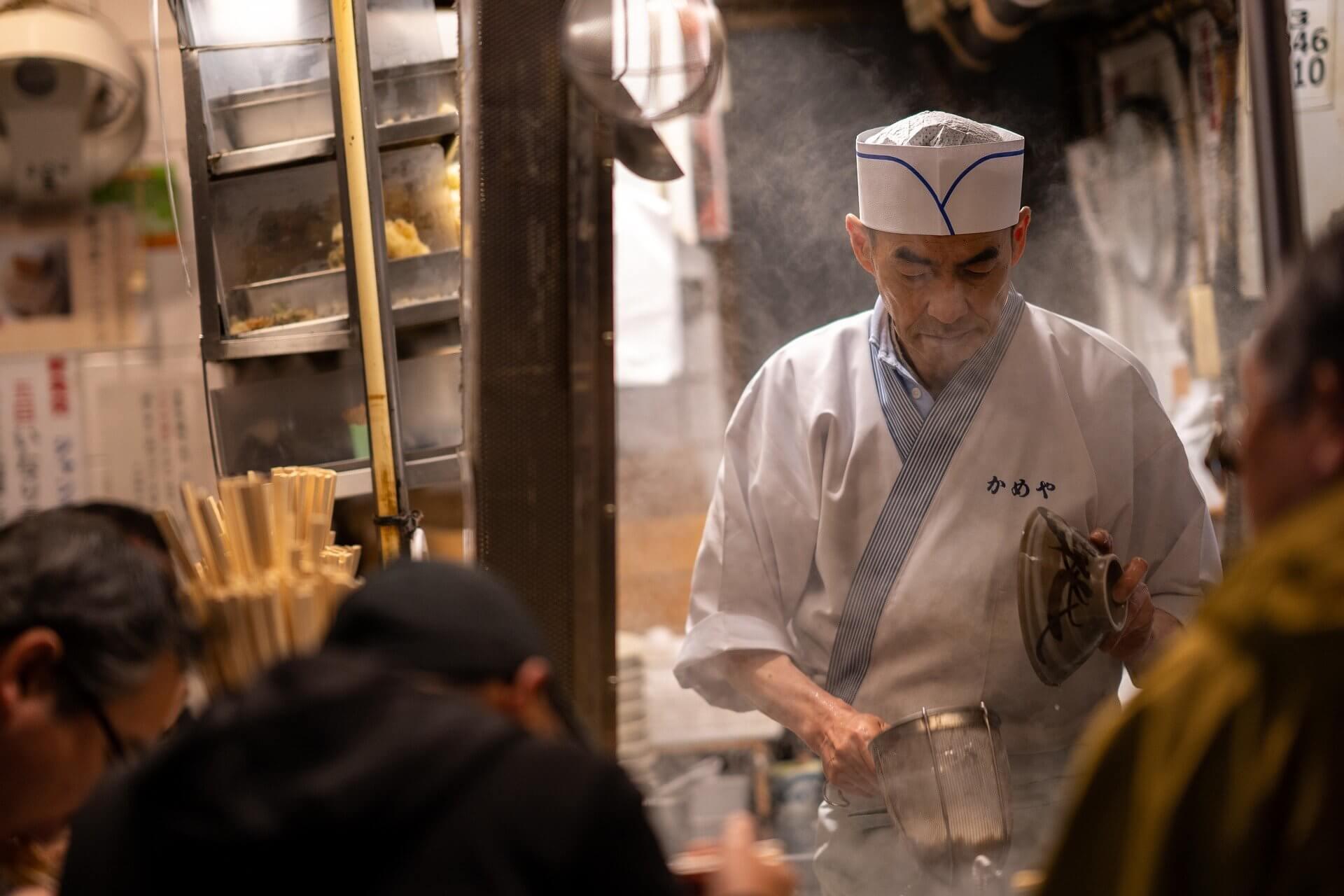 日本の食べ物屋
